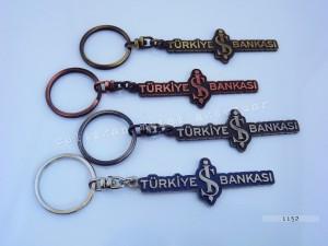 Anahtarlık, promosyon, özel imalat, Türkiye İş Bankası, banka, promosyon, bakir antik kaplama, firmaya özel, kurumsal hediyelik, tasarım, ostim, Ankara