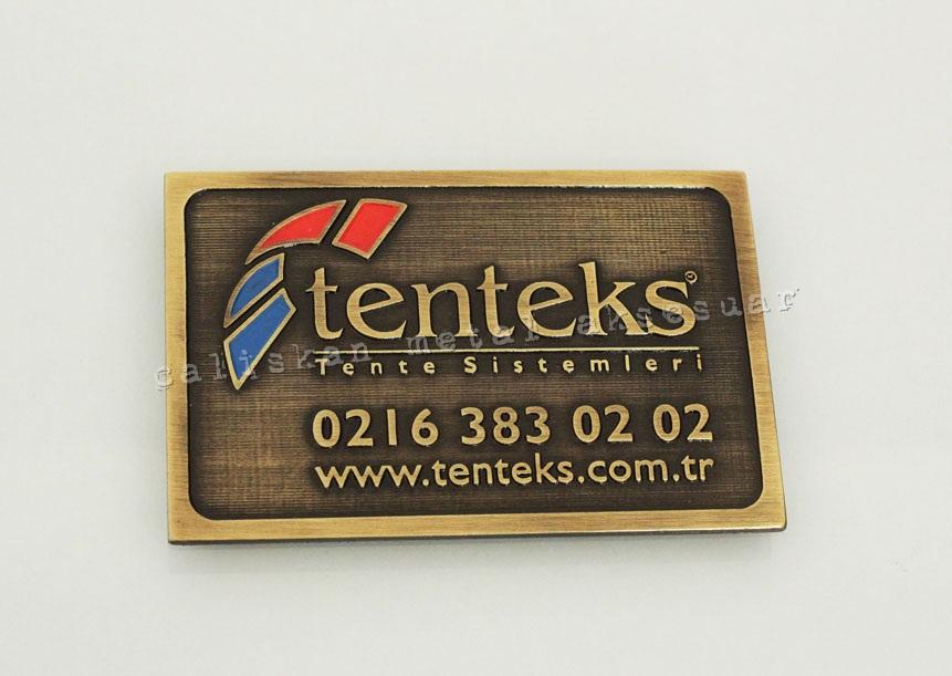 metal-etiket Tenteks