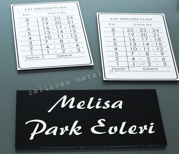 Tabela, Park Evleri